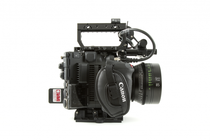 Canon C500 No Extender Right