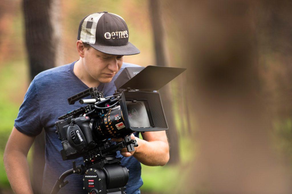 Clemens Majunke operating Canon C500 Mk II