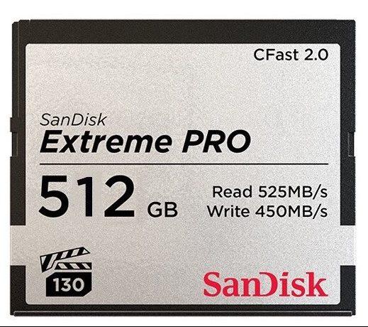 512GB CFast 2.0 ARRI Edition Memory Card 525/450MB/s