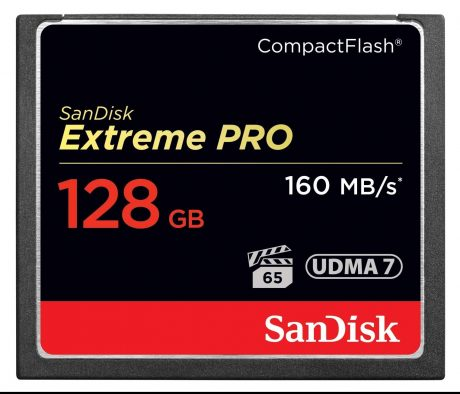 Sandisk 128GB 160MB-s Extreme Pro CF
