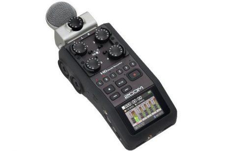 Zoom_H6n audio recorder